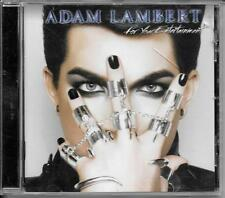 CD ALBUM 18 TITRES--ADAM LAMBERT--FOR YOUR ENTERTAINMENT--2010