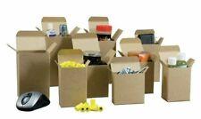 25 4 X 4 X 4 Reverse Tuck Mailer Cartons Kraft Folding Chipboard Box