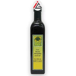 Steirer Gold 100% Pumpkin Seed Oil (Product Of Austria)- 500 ml