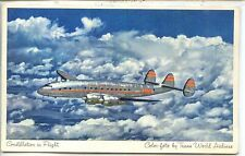 CP Aviation - Constellation in Flight - Trans World Airlines