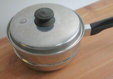 Vintage Saladmaster 2 QT Stainless Steel Steamer Insert Basket w/lid