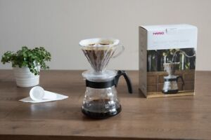 Hario Craft Drip Filter Kit, V60 Dripper, Jug, Filter Papers, Coffee