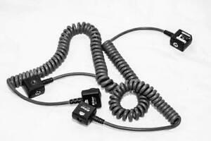 2 Genuine Nikon SC-17 TTL Remote Flash Sync Cord for SB800, SB900, many SB's