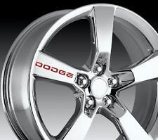 8 X Dodge Wheels Decal Sticker Door Handle Graphics Vinyl Emblem Logo I I