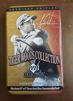 Upper Deck - Tiger Woods Collection -Tin Set of 25 Trading Cards MINT sealed b20