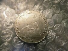 "Royal France 1730-V Louis XV 1/2 ECU Silver ""Troyes Scarce Mint"" Coin     #-25.2"