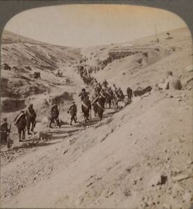 Manchuria. Russians Taking Place of Fallen Comrades in Outer Forts, Port Arthur