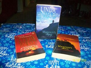 Linda Howard (Complete Set Series 1-5) Mackenzie Saga Romance Books (in 3 volume