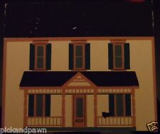 Vintage 1989 The Cat's Meow Series VII Thorpe House Bed & Breakfast Village