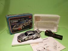 DICKIE 911 PORSCHE 935 TURBO MARTINI RACING - RC REMOTE CONTROL - GOOD IN BOX