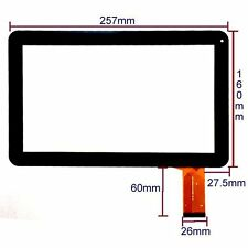 """Numériseur Écran Tactile pour Irulu X1 Pro Allwinner A83t Octa Core 10.1 """""""