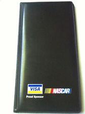 Visa Nascar Restaurant Guest Check Credit Card Holder Bill Fold Vintage New