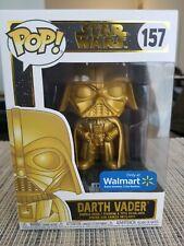 Funko Pop! Darth Vader Gold #157 Walmart Exclusive New In Box