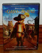 EL GATO CON BOTAS-PUSS IN BOOTS-DVD-NUEVO-PRECINTADO-NEW-SEALED-ANIMACIÓN
