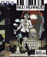RED HERRING #1,2,3,4,5,6 SET DC Comics/Wildstorm Philip Bond Art Spy Spies James