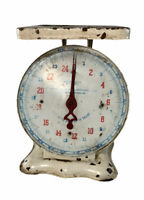 Antique / Vintage Scale. PATENTED OCT. 29, 1912 / JUNE 17, 1913.  Weight 25 LBS.