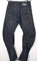 G-Star Brut Hommes Arc Conique Ample Jeans Jambe Droite Taille W31 L34 BCZ228