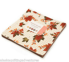 "Moda FABRIC Layer Cake ~ MAPLE ISLAND ~ by Holly Taylor - 10"" squares"