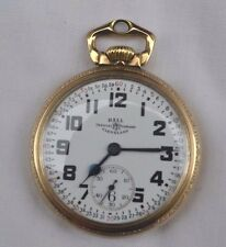 Hamilton Ball Official Standard Bridge Railroad 23 Jewel 998 Pocket Watch 16 S