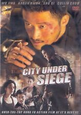 City Under Siege DVD Starring Wu Jing, Shu Qi and Aaron Kwok English Subtitled