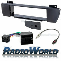 BMW X3 04-10 Flush Fit  Stereo Radio Fitting Kit Fascia Adapter Single Din