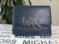 NWT Michael Kors Leather Florence Trifold Wallet