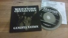 CD HipHop Westside Connection-gangster nazione (2) canzone PROMO priority CB pressk
