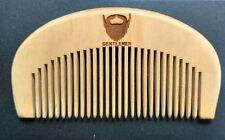 Fine tooth comb wood comb makeup massage beard comb BEARD GENTLEMEN wholesales
