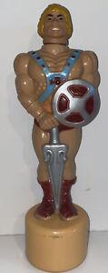 He Man Masters of the Universe HEMAN soaky toy bubble bath bottle 1983 Mattel
