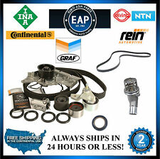 For Audi A4 A6 3.0L OEM Timing Serpentine Belt Water Pump Thermostat Kit w/Seals