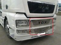 MAN TGX Chrome Front Grille 2 Pieces Stainless Steel