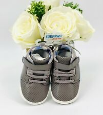 NEW -Stride Rite Baby Boy Shoes Sneakers Size 6-12 Months Gray