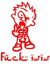 Calvin,F*CK ISIS, ISIS,Cowards, Anti Terrorist,Infidel,Custom Decals,Vinyl Decal
