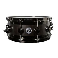 "Drum Workshop Maple Edge 6""x14"" Snare Drum - Ebony Satin Oil"