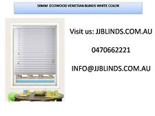 50mm venetian blinds timber look alike from $35