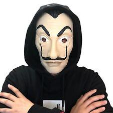 La Casa De Papel Face Masks Salvador Dali Face Latex Cosplay Mask Halloween