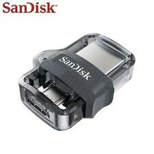 Sandisk Pendrive OTG Micro Usb 16B 32GB 64GB 128GB U disk DUAL USB Flash DRIVE