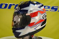 Arai Corsair-V Edwards Patriot Full Face Motorcycle Helmet XS Open Box 812220