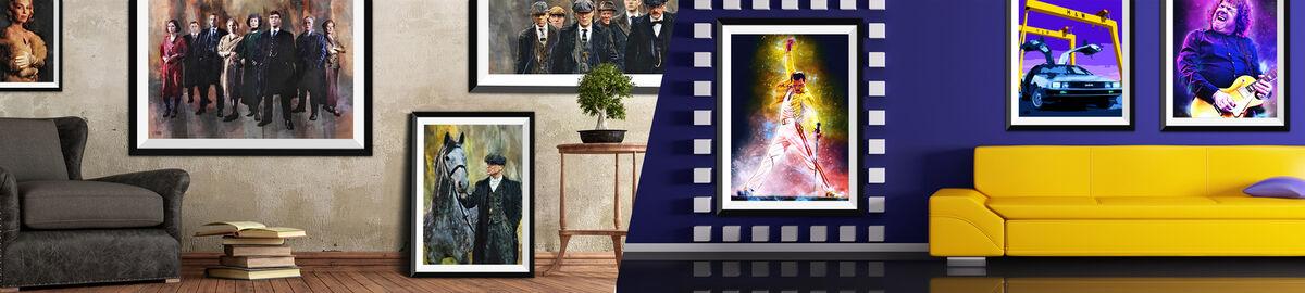 Irish Art Posters