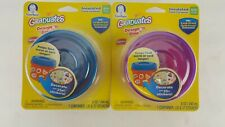 2 PACK GERBER BABY FOOD STORAGE CONTAINER BPA FREE 8 OUNCE LEAK SPILL PROOF