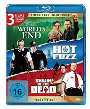NICK FROST/SIMON PEGG/EDGAR WRIGHT/+ - CORNETTO TRILOGIE 3 BLU-RAY NEU