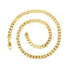 De Lujo para Hombres Collar Mujer Cadena 999er Oro 24K Dorado Macizo 60CM