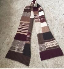 Euc Ralph Lauren Patchwork Wool Scarf Beautiful