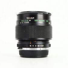 - Vivitar 55mm f2.8 Auto macro Lens for Olympus OM