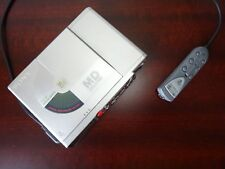 Vintage Sony MZ R37 Portable minidisc Player/Recorder w Remote