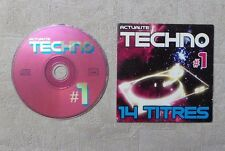 CD AUDIO MUSIQUE / ACTUALITE TACHNO #1 -  14T CD COMPILATION 2002 CARDSLEEVE