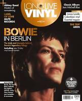 Long Live Vinyl Magazine 7 David Bowie Daniel Miller Joni Mitchell James Lavelle