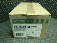 SIEMENS SE222, SERVICE ENTRANCE SWITCH, NEW 60A 240V 2 POLES