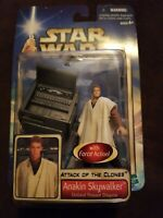 Hasbro Star Wars Attack Of The Clones Anakin Skywalker Outland Peasant Disguise