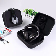 Black EVA Carrying Hard Case Cover Pouch for Headphone Headset Pioneer Beats Bag